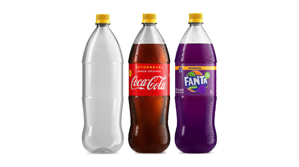 Coca-Cola Brasil lança novas embalagens retornáveis: empresa unifica garrafas de todos os seus refrigerantes e garante ganhos para o meio ambiente e para o bolso (Foto: Coca-Cola Brasil)