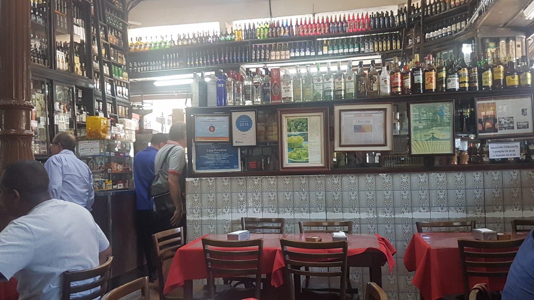 Casa Paladino: tradição e boa comida desde 1906 na Avenida Marechal Floriano (Foto: Oscar Valporto)