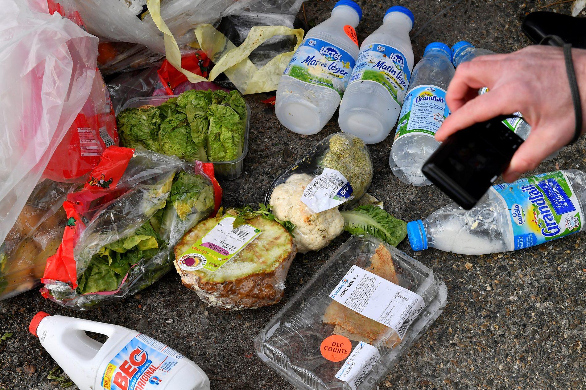 Desperdício de comida. Foto de GEORGES GOBET / AFP