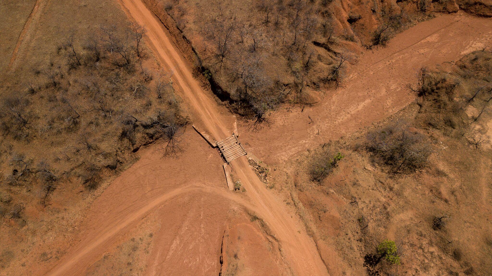 Gilbués é um dos núcleos de desertificação no país. Foto de Márcio Pimenta