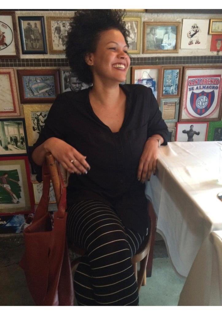 Isadora Brandão, primeira mulher negra a assumir a coordenação no Núcleo de Diversidade e Igualdade Racial da defensoria pública do Estado de São Paulo. Foto Arquivo Pessoal