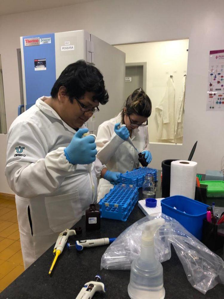 Laboratório da UFRJ. Foto de Divulgação
