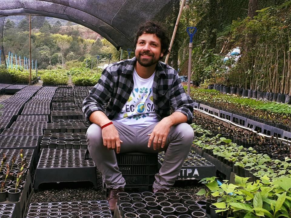 Maurício Ruiz, ainda adolescente criou o Instituto Terra de Preservação Ambiental (ITPA). Foto Divulgação