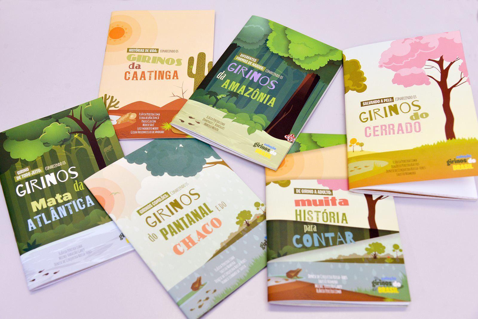 Projeto Girinos do Brasil: seis livros por 22 pesquisadores de 17 universidades públicas brasileiras (Reprodução)
