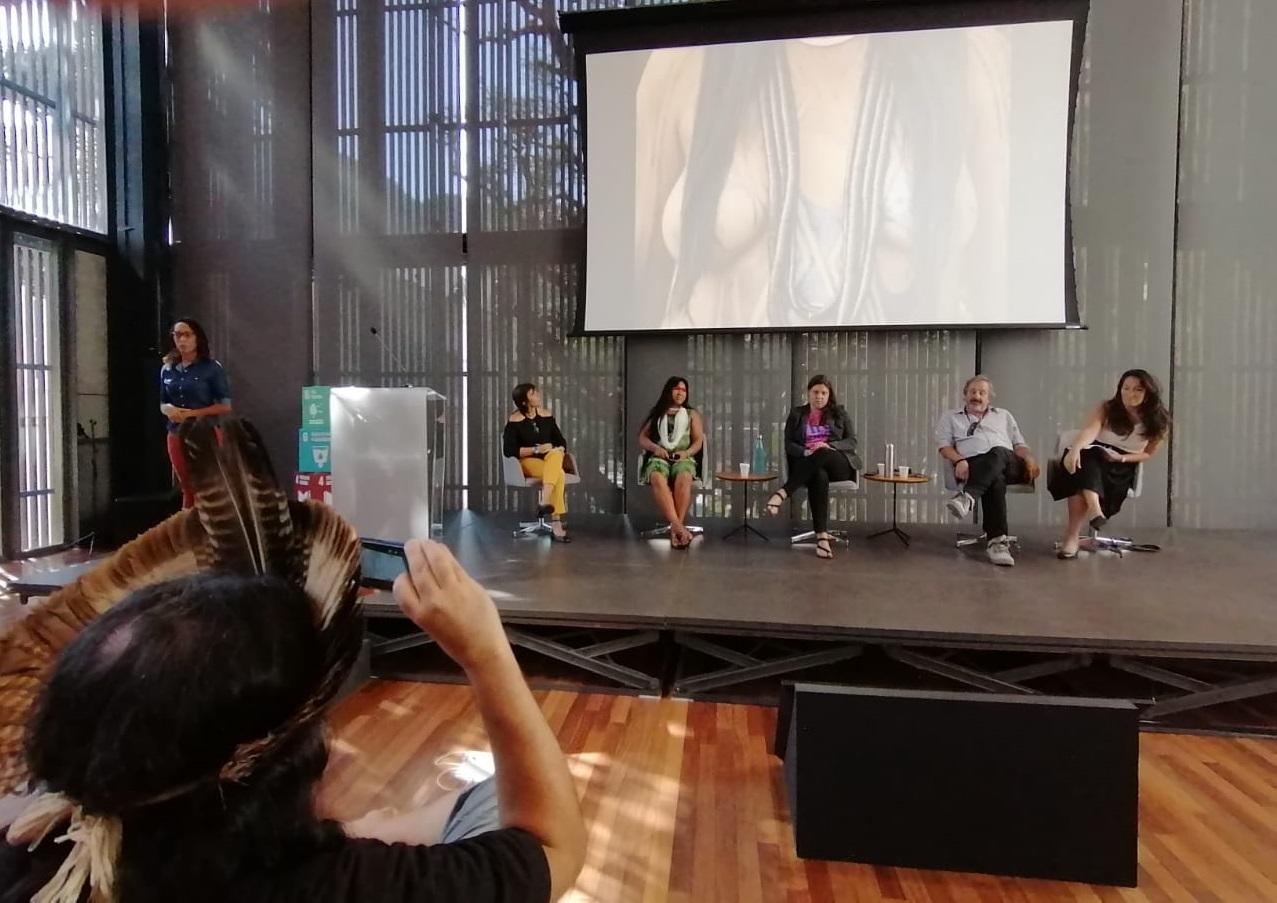 Debate sobre Amazônia e Mudanças Climáticas durante o Fórum Virada Sustentável na Casa Firjan durante Fórum Virada Sustentável (Foto: Lauro Neto)