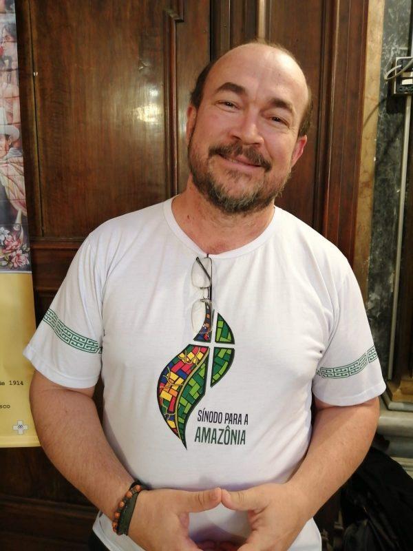 Daniel Seidel, membro da Rede Eclesial Pan-Amazônica e assessor para os direitos humanos das dioceses do Xingu e Marabá. Foto Janaína Cesar