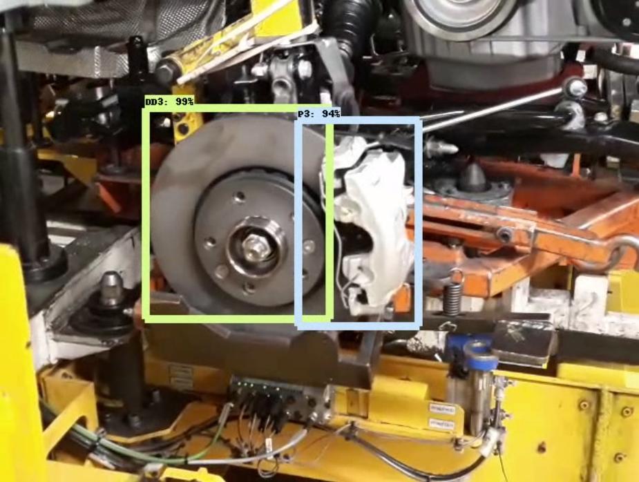 Disco de carro Renault utilizado em teste de programa para detectar defeitos: programa de inteligência artificial da UTFPR (Foto: Divulgação)