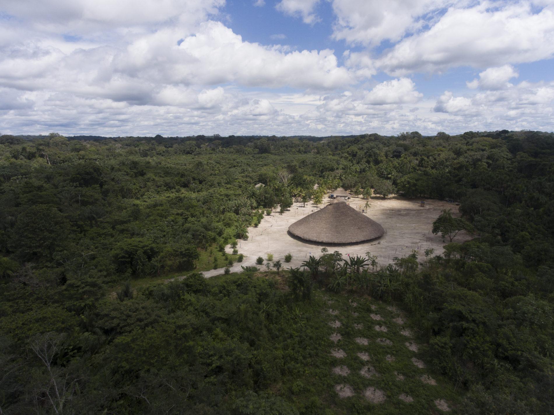 Aldeia Waimiri-Atroari. Foto de Renato Soares/ Divulgação