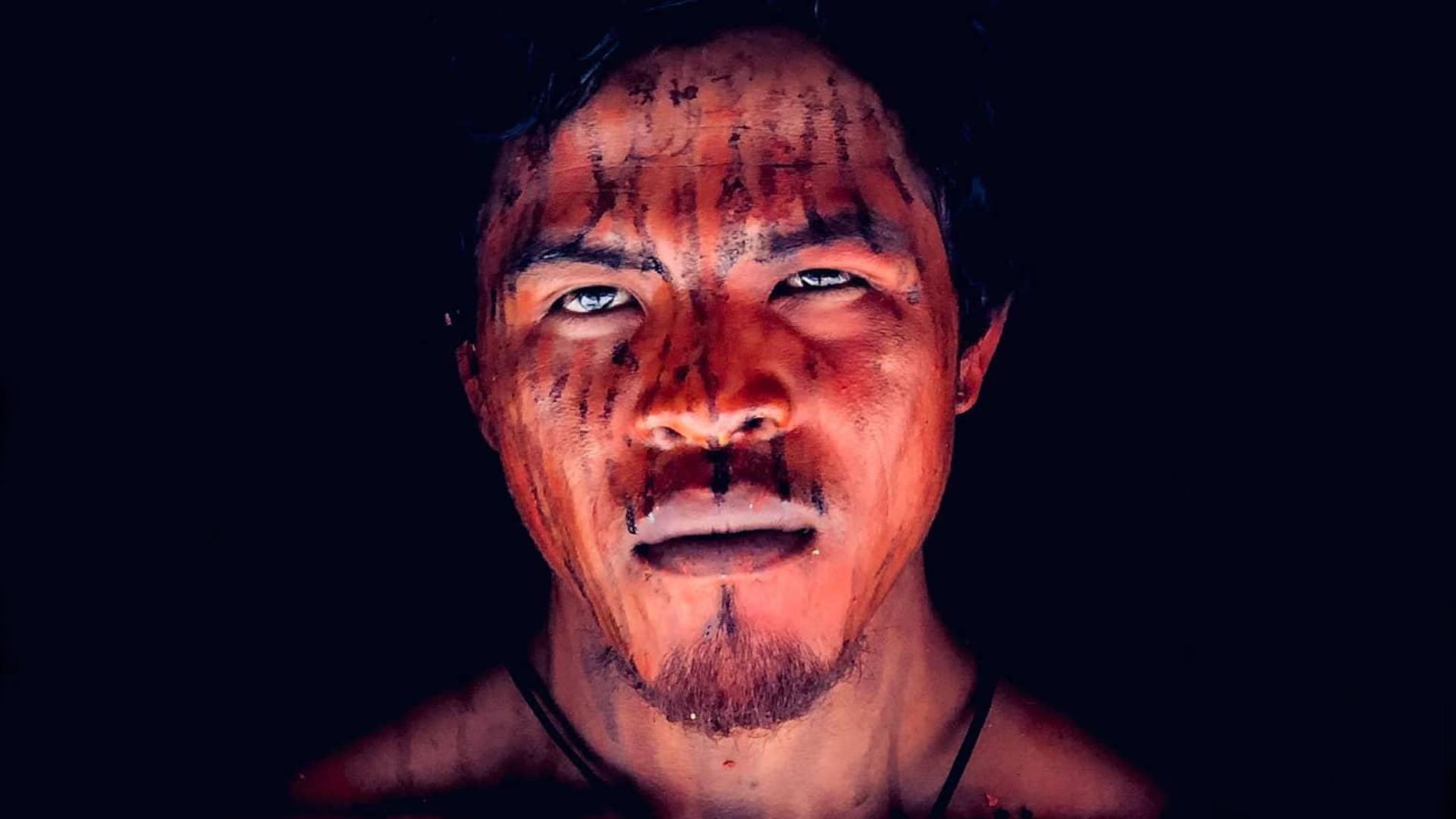 Paulo Paulino Guajajara: líder indígena baleado na floresta durante emboscada. Foto de Patrick Raynaud (APIB/Amazônia Real)