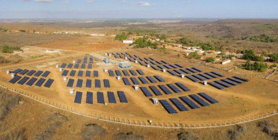 Condomínio Solar da Enel X para rede de farmácias no Ceará: abatimento na conta da luz (Foto: Divulgação)