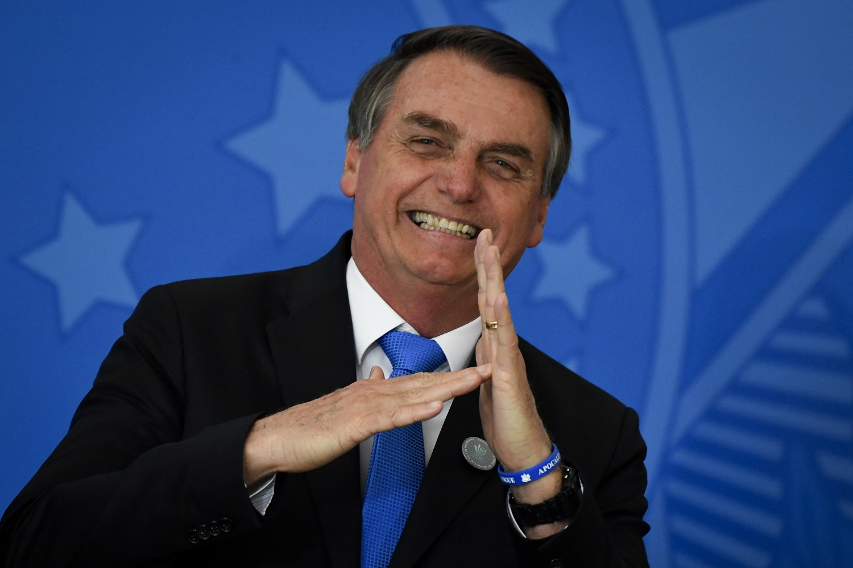 """Jair Bolsonaro: """"Competente, sim, foi a cavalaria norte-americana, que dizimou seus índios"""". Foto Mateus Bonomi/AGIF"""