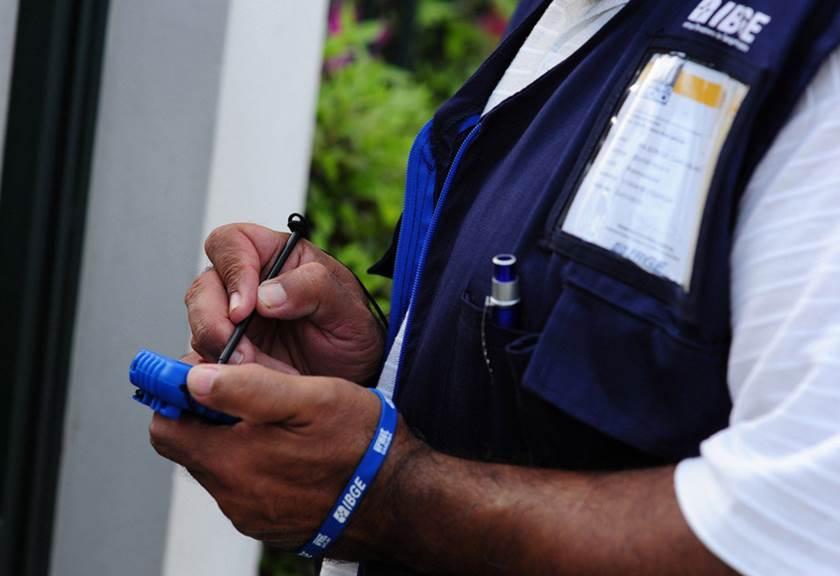 A operação censitária de 2020 vai envolver o trabalho de cerca de 200 mil recenseadores, além de supervisores e técnicos do IBGE. Foto Divulgação