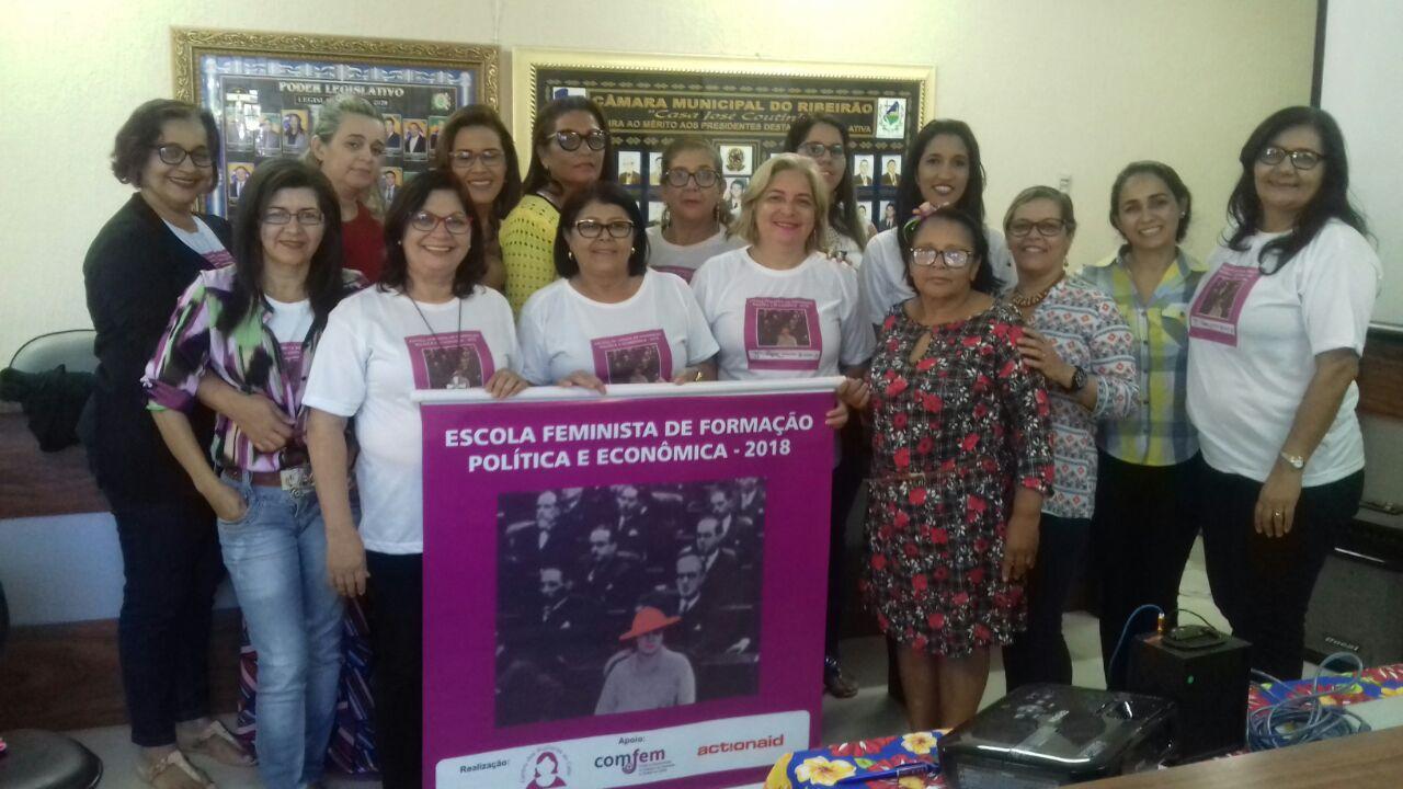 Escola Feminista do Centro das Mulheres do Cabo, em Pernambuco