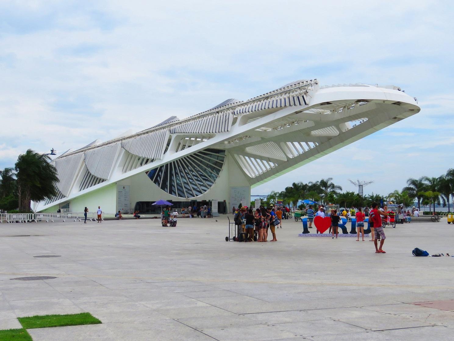 Com apenas três anos de existência, o Museu do Amanhã, no Centro, é um dos que mais arrecada na cidade. Seu orçamento gira em torno de R$ 30 milhões. Foto Júlia Rabello