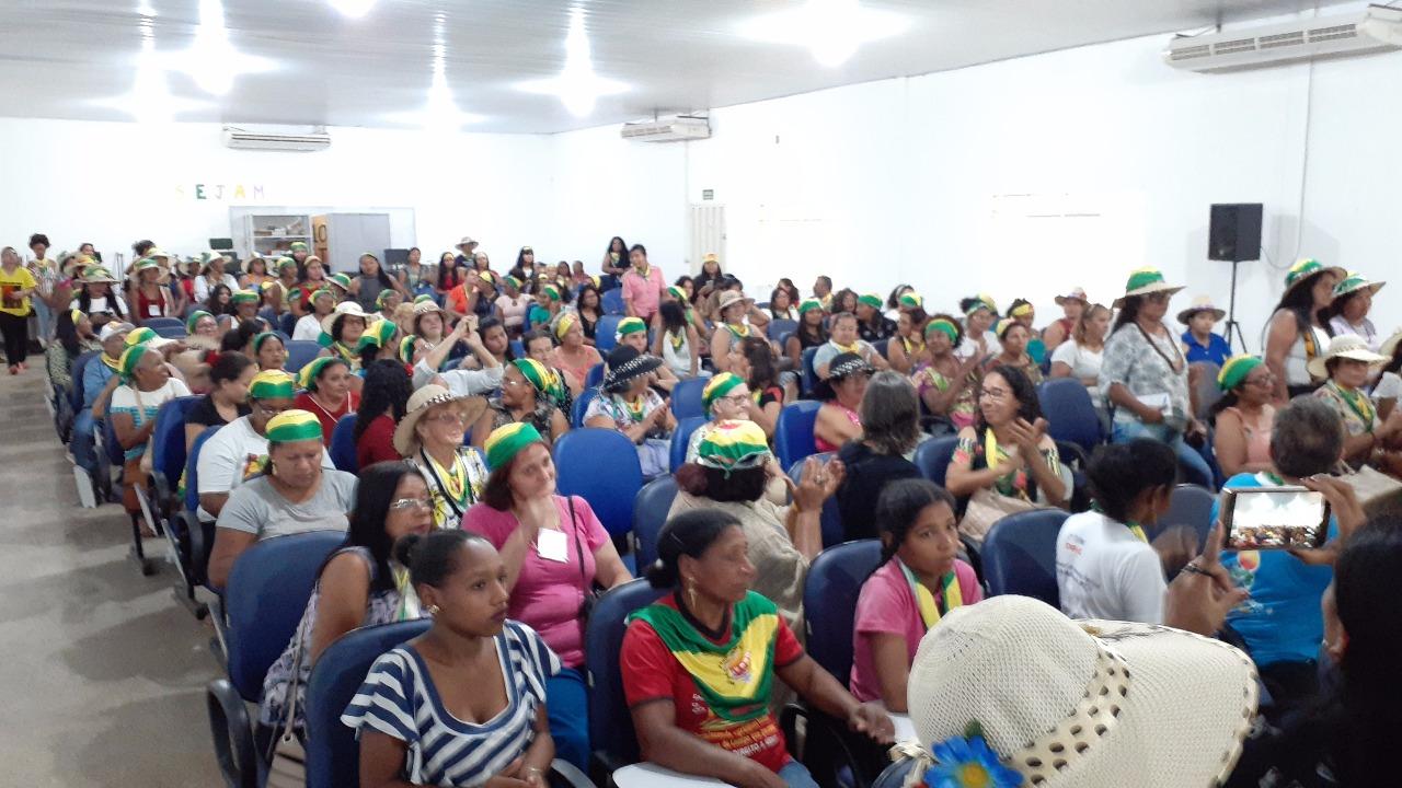 Delegação de Mato Grosso em Brasília para a Marcha das Margaridas (Foto: Téo Miranda)