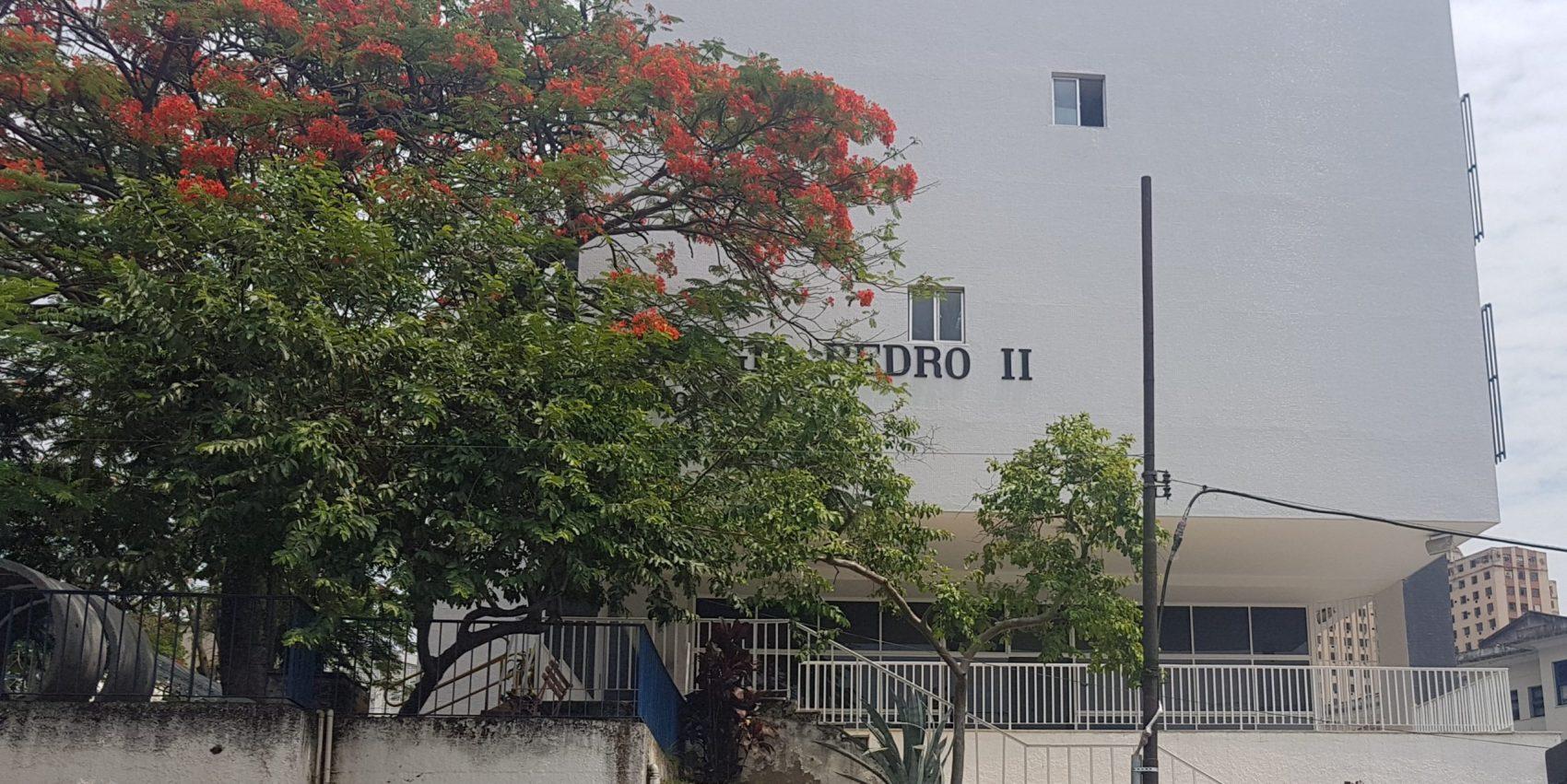 O campus São Cristóvão do Colégio Pedro II: antigo internato (Foto: Oscar Valporto)