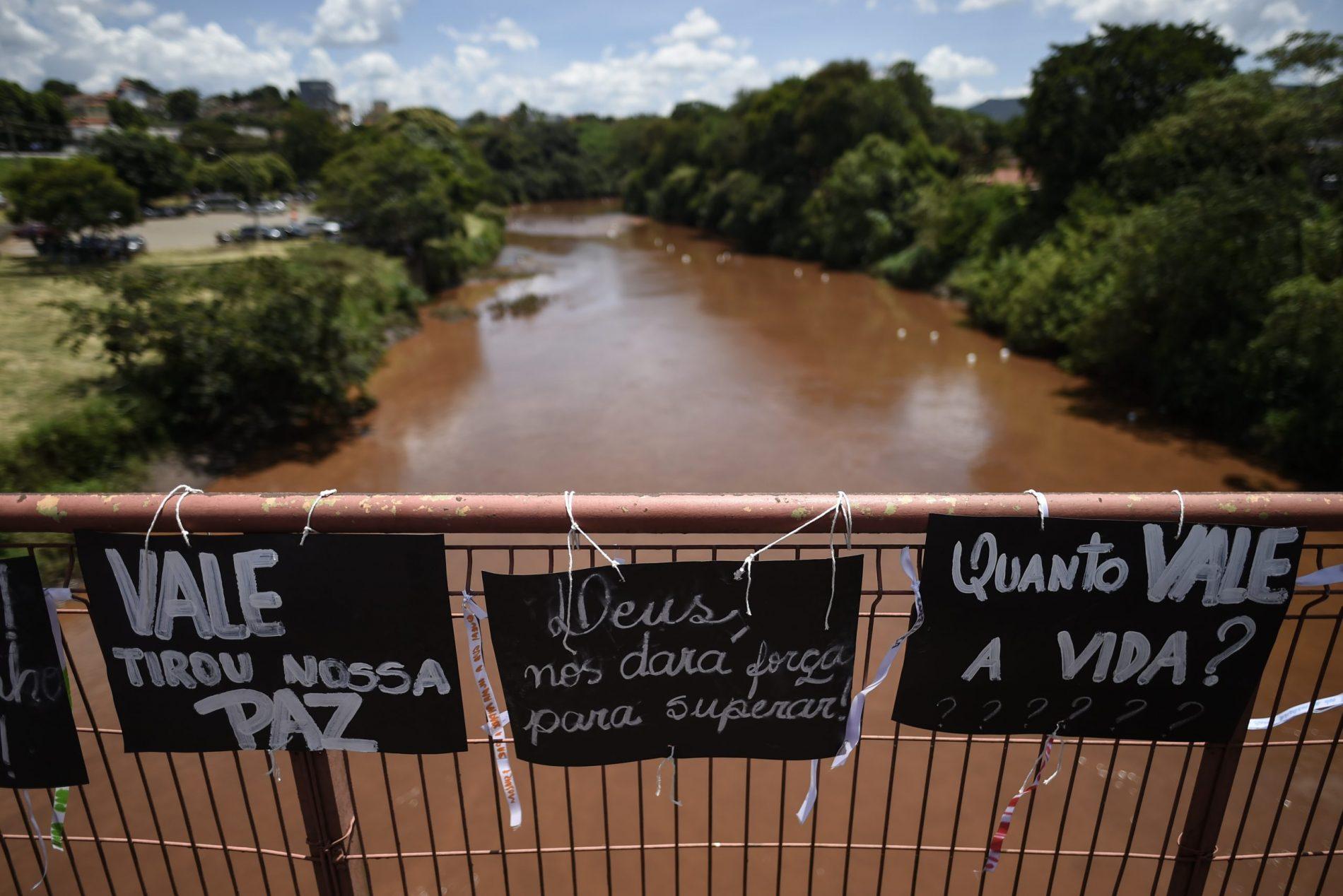 Brumadinho um ano depois. Foto de Douglas Magno/ AFP