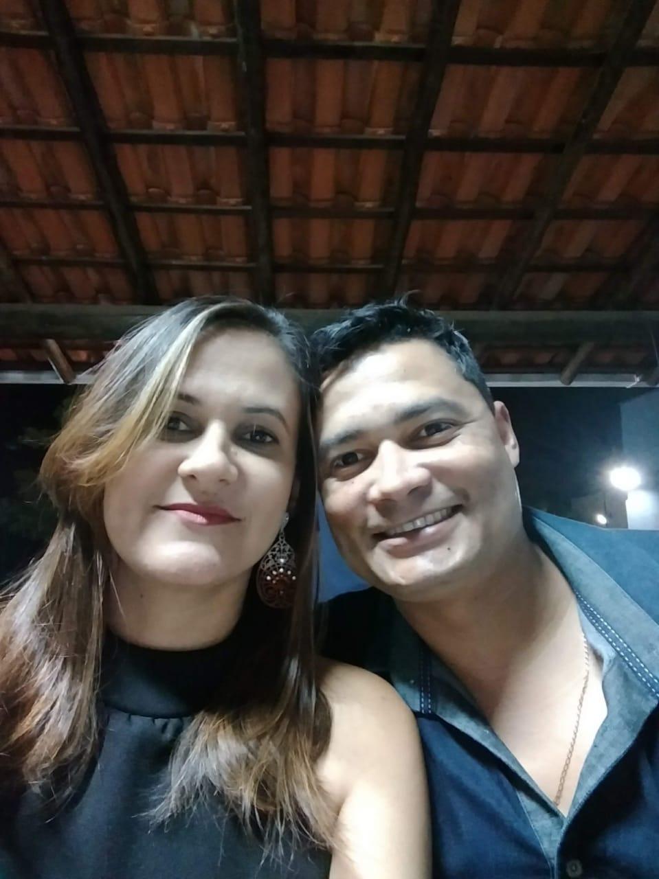 Estefânia Ramos Bragas ficou viúva após o acidente de Brumadinho. Arquivo de família