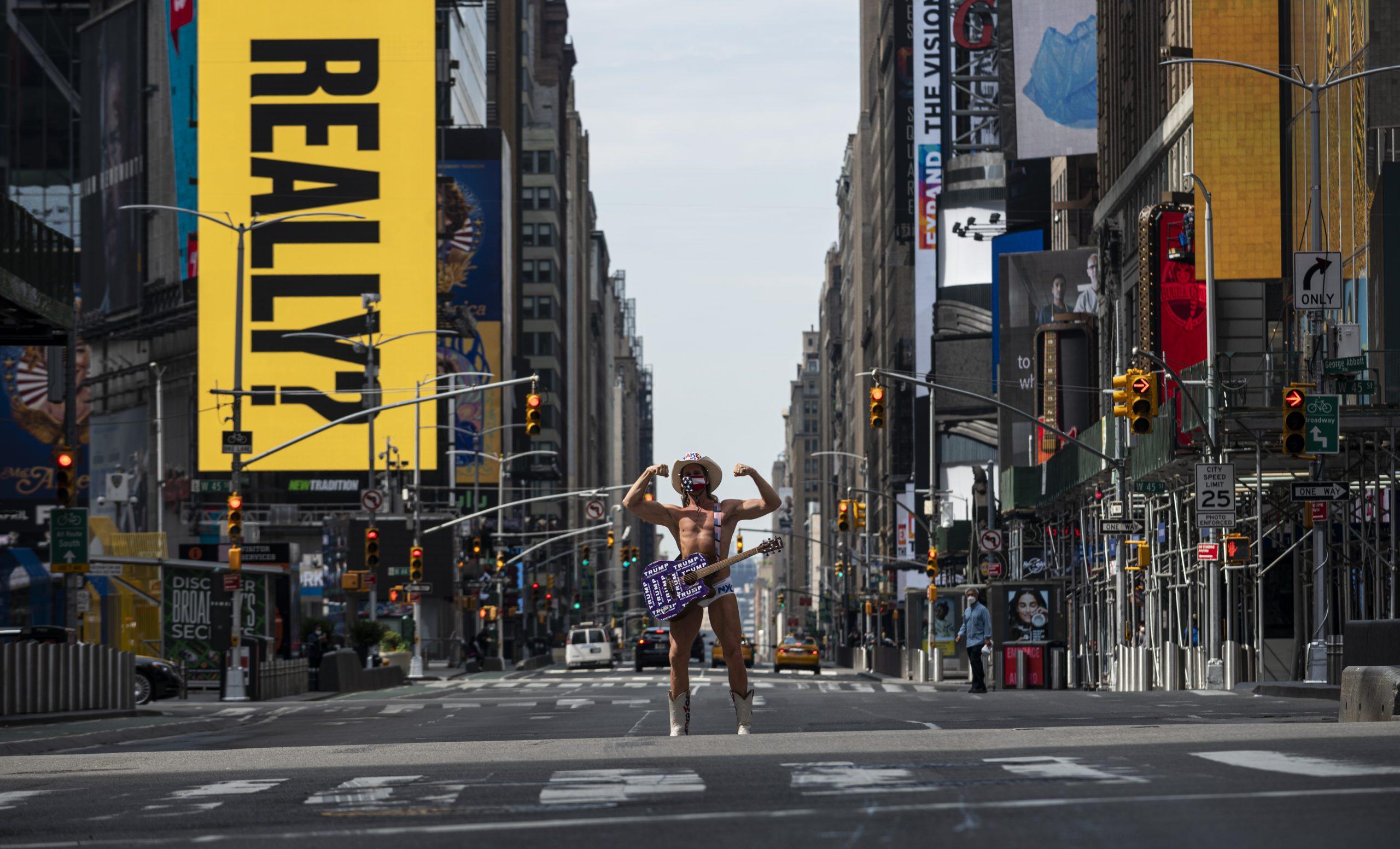 Times Square- NY - turismo -covid-19