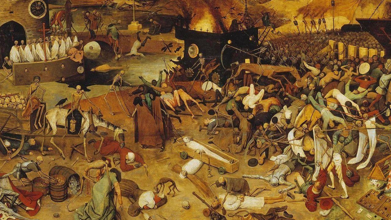 Entre 1347 e 1351, cerca de um terço da população do continente europeu desapareceu por conta da Peste Negra. Foto Reprodução
