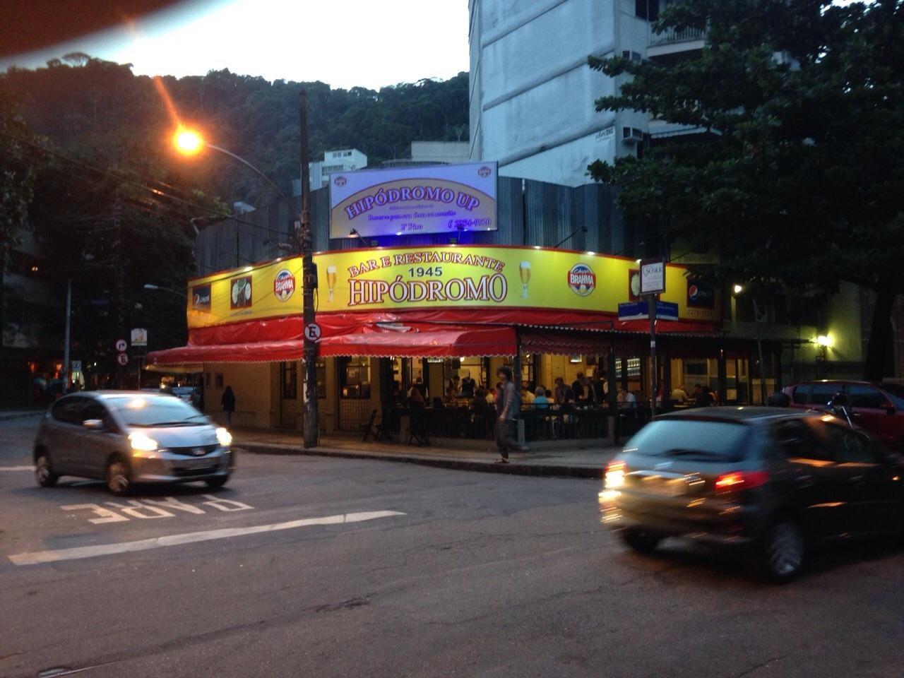 O Hipódromo Bar e Restaurante, veterano da boemia do Baixo Gávea, engolido pela crise provocada pela pandemia: Segundas Sem Lei agitavam a região (Foto: Divulgação)
