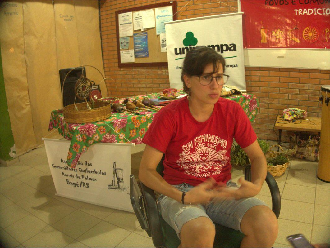 """Luna Dalla Rosa: """"sem campo não existe a pecuária, sem água boa a pecuária também fica inviável"""". Foto de Rafael Glória"""
