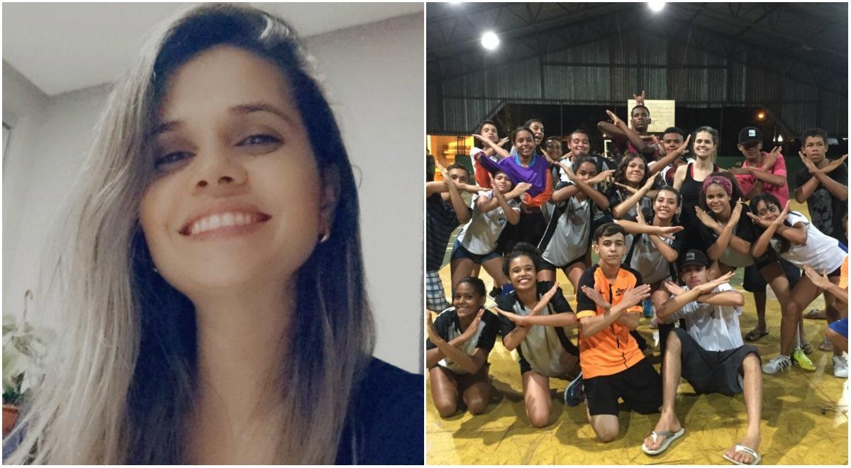 Cassira de Almeida acredita na educação como forma de transformação social (Arquivo Pessoal)