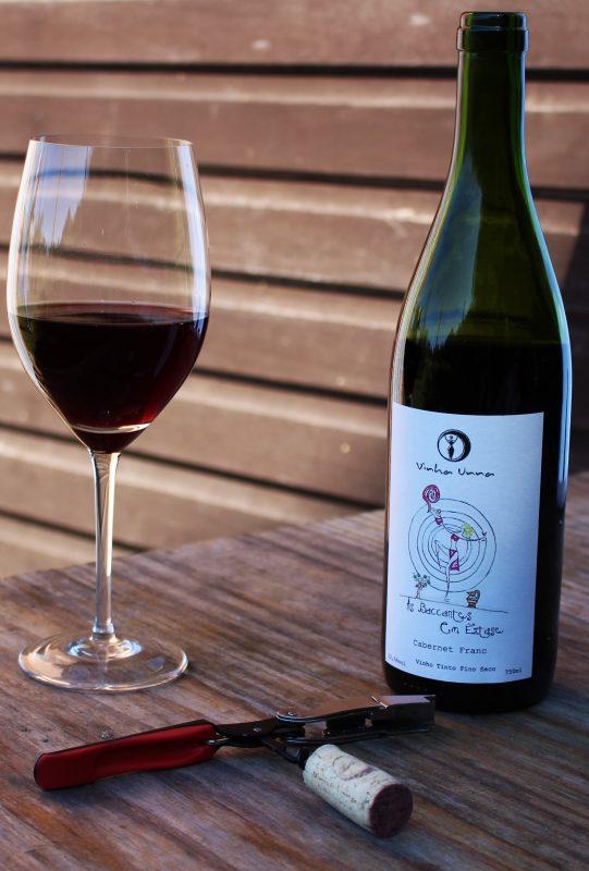 Cabernet Franc da Vinha Unna: sem adição de sulfito e com rótulo desenhado a mão (Foto: Divulgação)