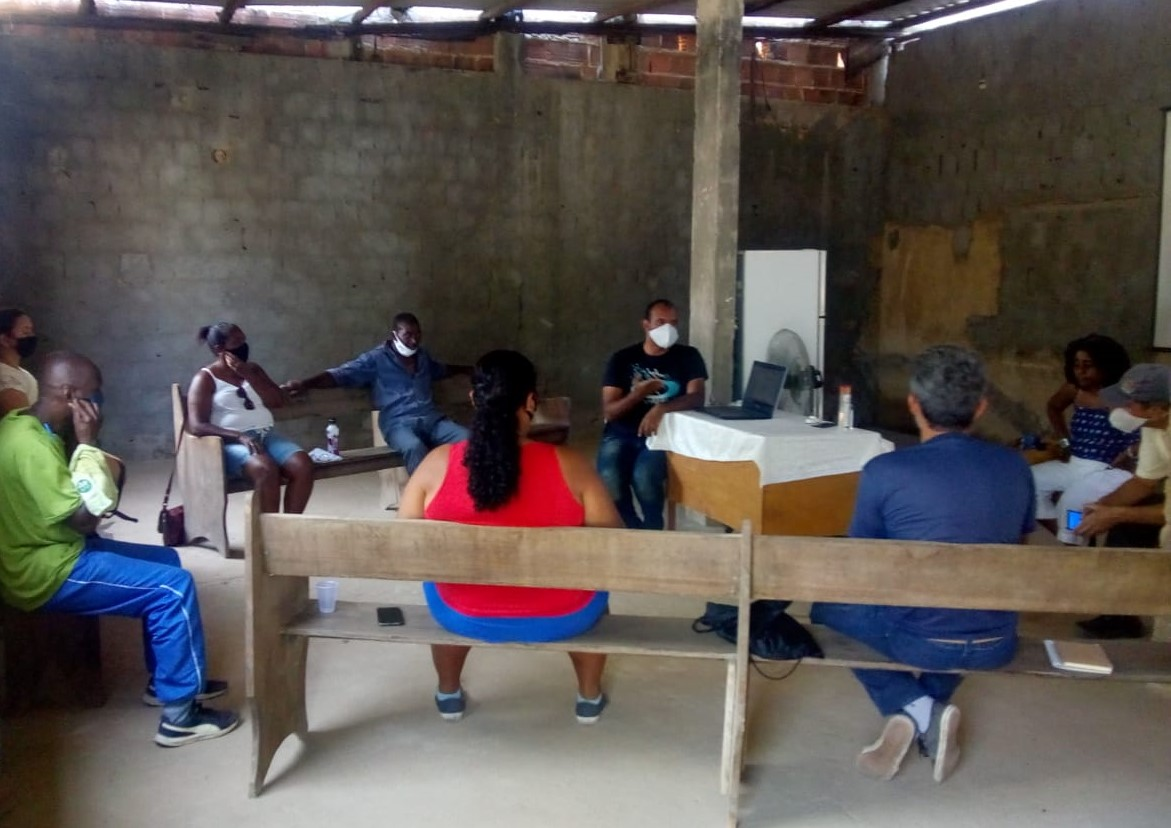 Encontro para a produção da Agenda Japeri 2030: transporte e emprego no centro das discussões (Foto: Casa Fluminense)