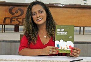 Professora Denise: primeira prefeita negra de São Gotardo. Foto de divulgação