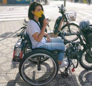 Talita Cadeirante: mandato pela inclusão em Taubaté. Foto de divulgação