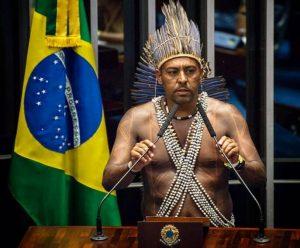 Marquinhos Xukuru: candidatura sub-júdice. Foto de divulgação