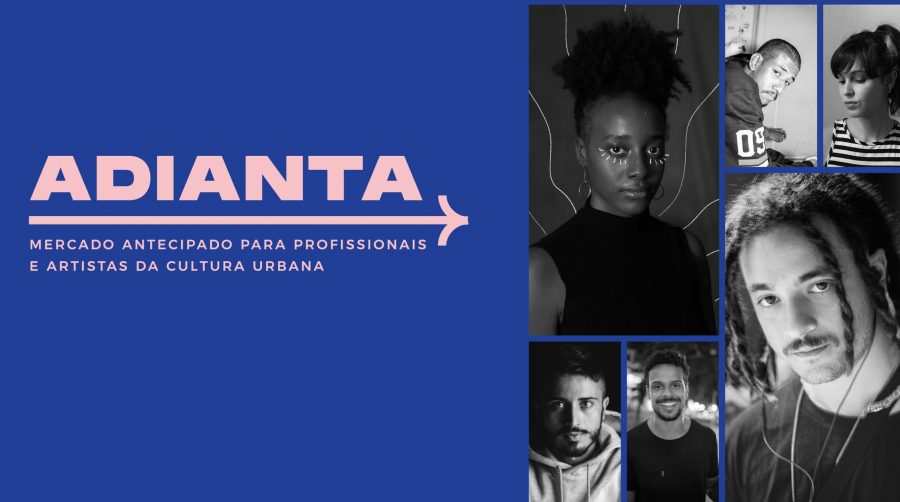 A plataforma Adianta: ferramenta para artistas e profissionais da economia divulgar trabalhos e conectar com consumidores (Foto: Reprodução)