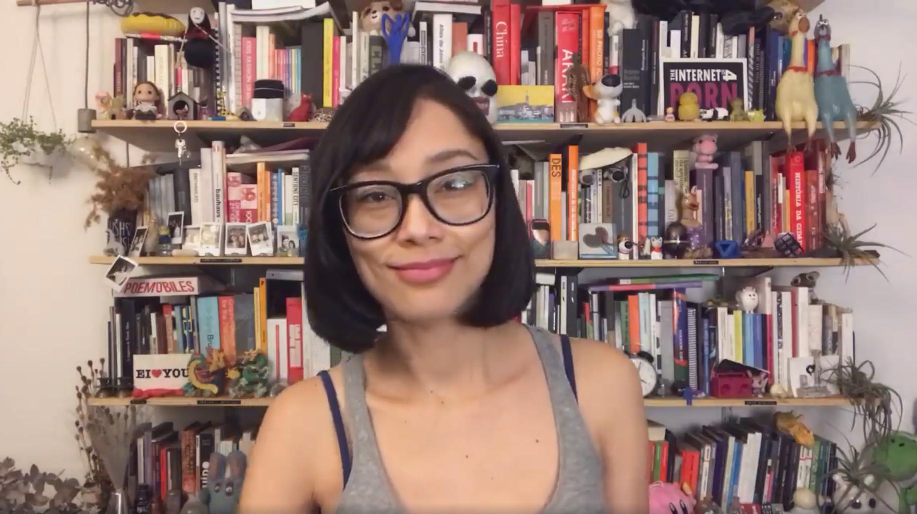 """A pesquisadora Rita Wu em vídeo sobre as ações do movimento maker na pandemia: """"Esse é o momento ideal para repensar e reimaginar as formas de produção global, avançando para um sistema mais democrático, sustentável, descentralizado e colaborativo"""" (Reprodução)"""