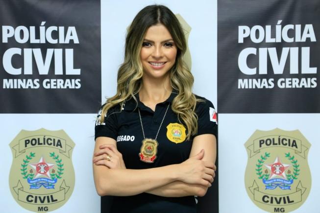 A delegada Isabella Franco de Oliveira: preocupação com subnotificação durante a pandemia (Foto: Fabiane Otoni/Divulgação)