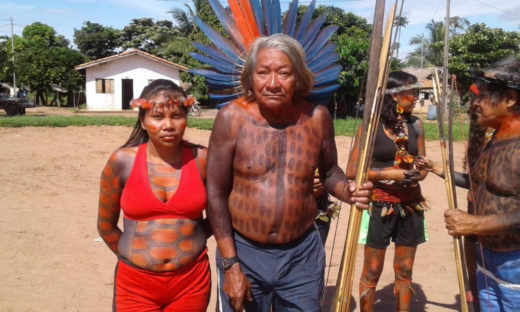 Warini Suruí durante celebração da Semana dos Povos Indígenas, em 2019 Morte de ancião de 85 anos, líder de luta pela demarcação das terras indígenas, causou comoção na aldeia (Foto: Zélia Maria Batista/Cimi)