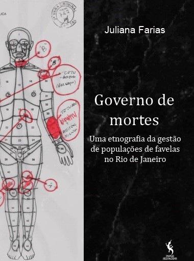 Capa do livro de Juliana Farias. Foto Divulgação