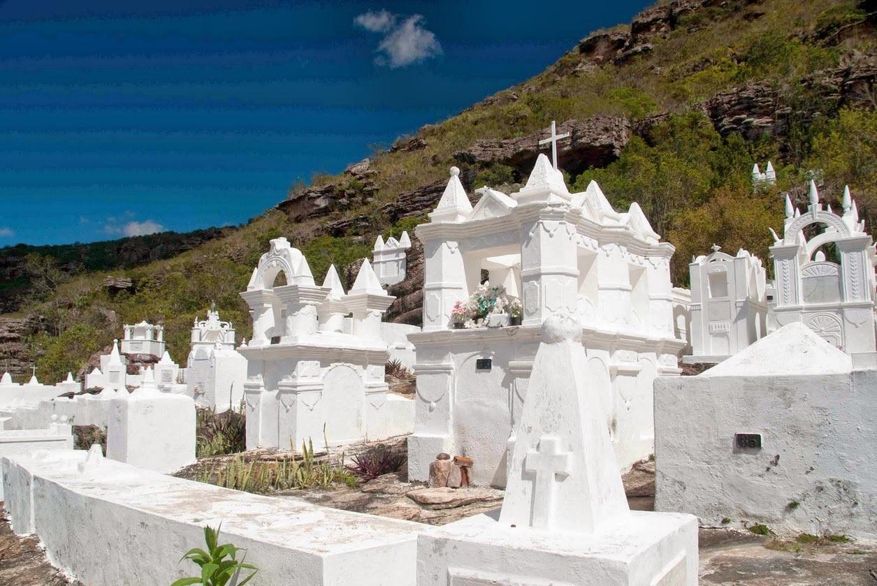 Cemitério bizantino de Santa Isabel, em Macugê, na Bahia. Foto Divulgação