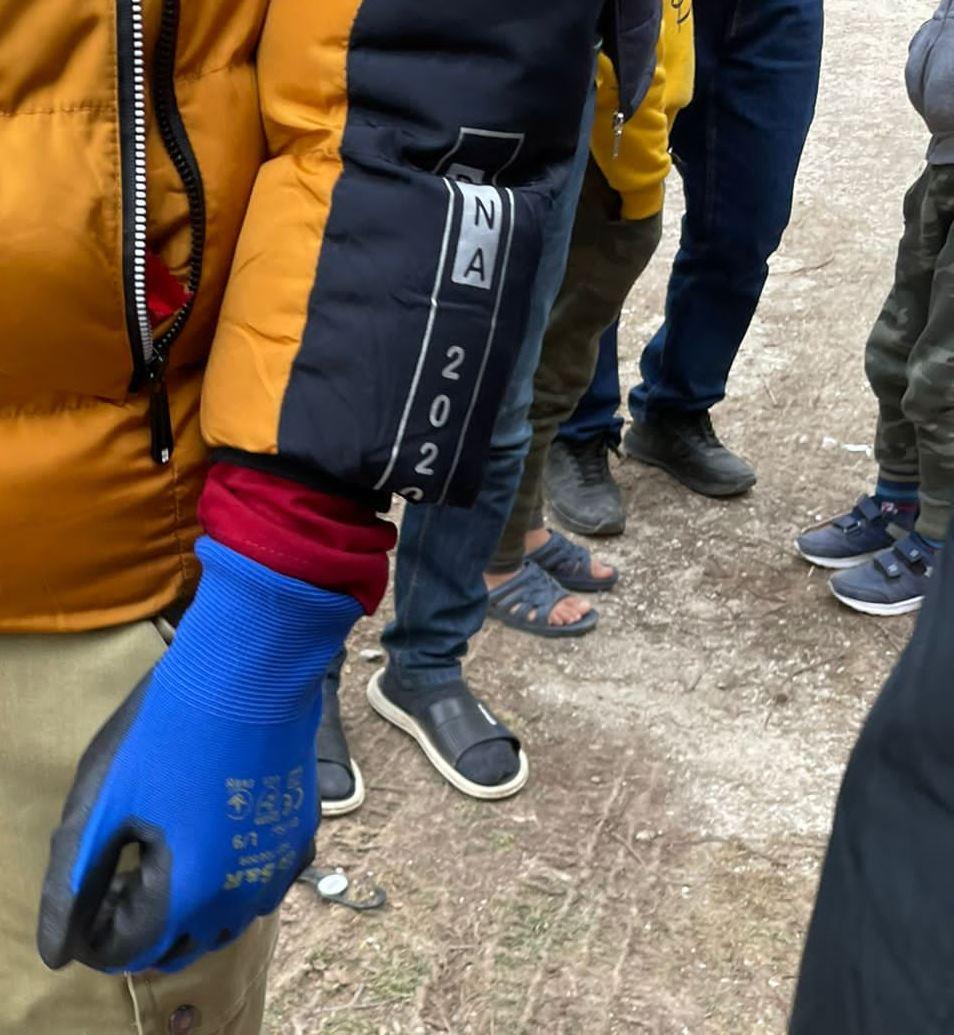 Jornada pela Bósnia: refugiados de chinelo no frio de 8 graus negativos. Foto Janaina Cesar