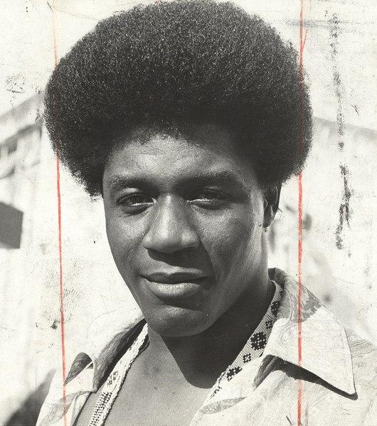 Cabelo black power: o cantor Tony Tornado em 1971 (Crédito: Arquivo Nacional)