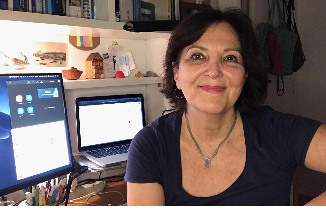 """Professora Estela Neves: """"Não aprendemos com as lições do passado"""". Foto Arquivo Pessoal"""