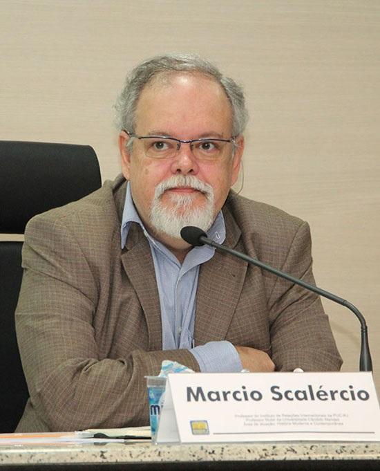 """O historiador Márcio Scalercio: """"a caixa preta das forças armadas ainda não foi aberta"""". Foto Reprodução"""