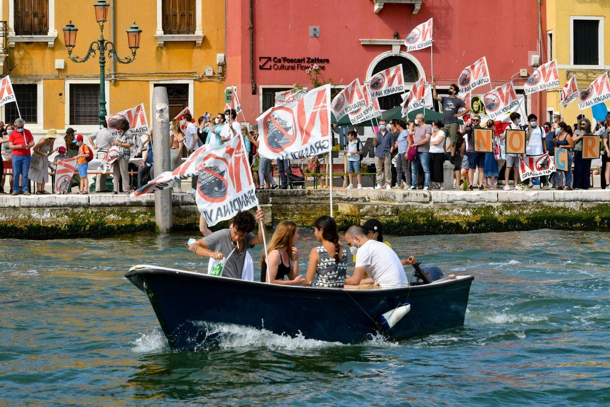 Cruzeiros em Veneza
