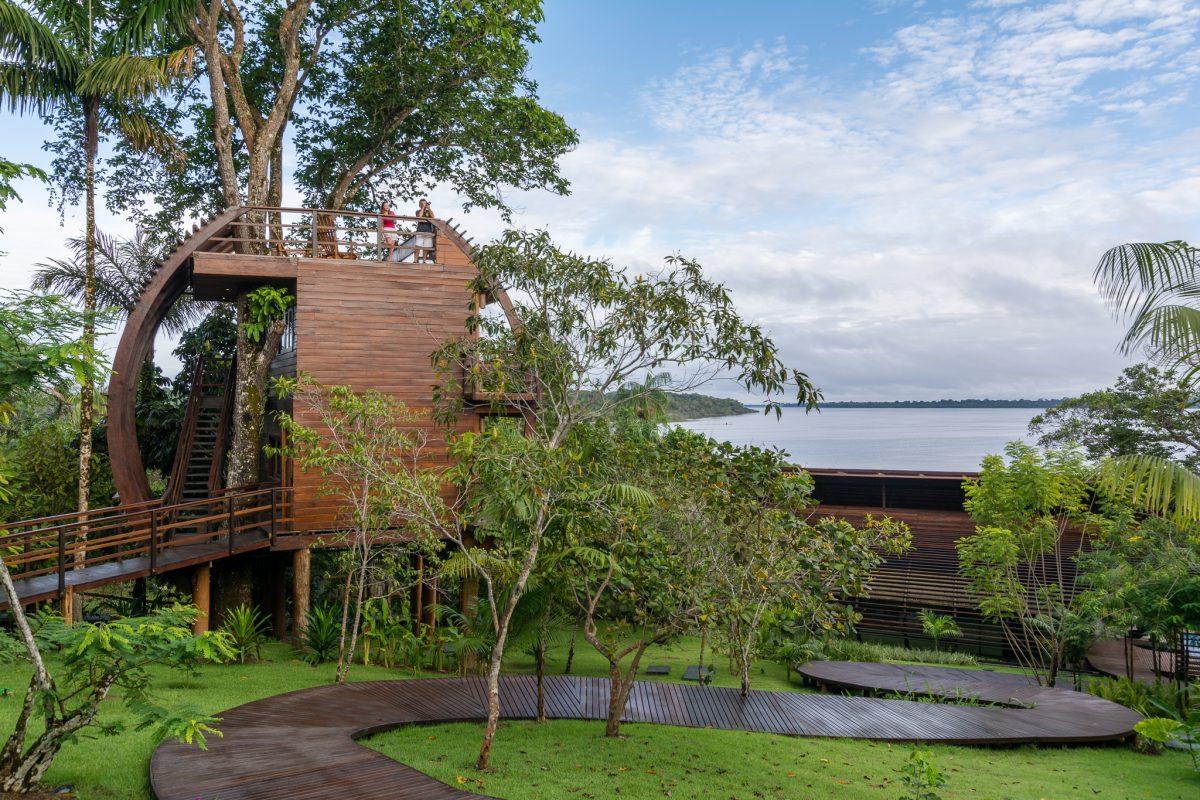 Hotel sustentável: Mirante do Gavião