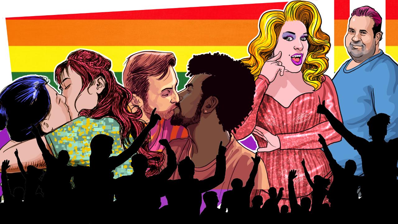 """""""Eu quero é vida para a gente. Quero beijos, sorrisos, choros de felicidade, alegria, dança, futuro. Amor! Quero amor!"""" (Ilustração: Claudio Duarte)"""