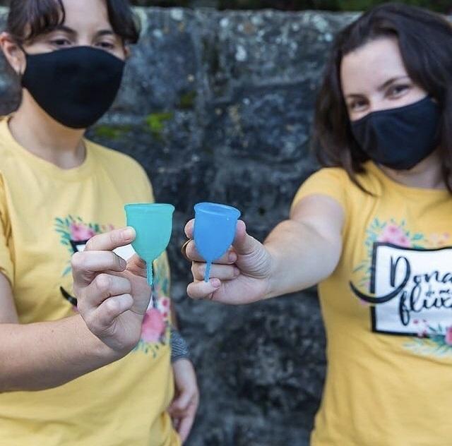"""O grupo """"Dona do meu Fluxo"""" já organizou ações no Vale do Jequitinhonha e pelo Xingú. Foto Divulgação"""