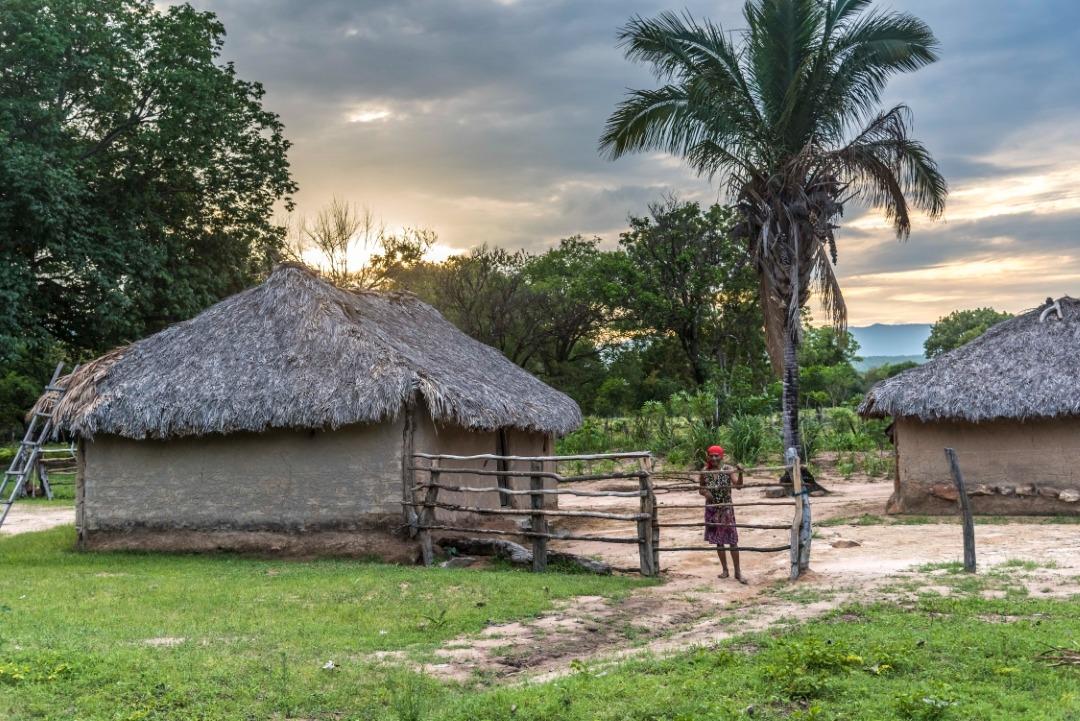 Casa em comunidade do Quilombo Kalunga, em Goiás: território mapeado por meio de georreferenciamento (Foto: André Dib/ISPN)