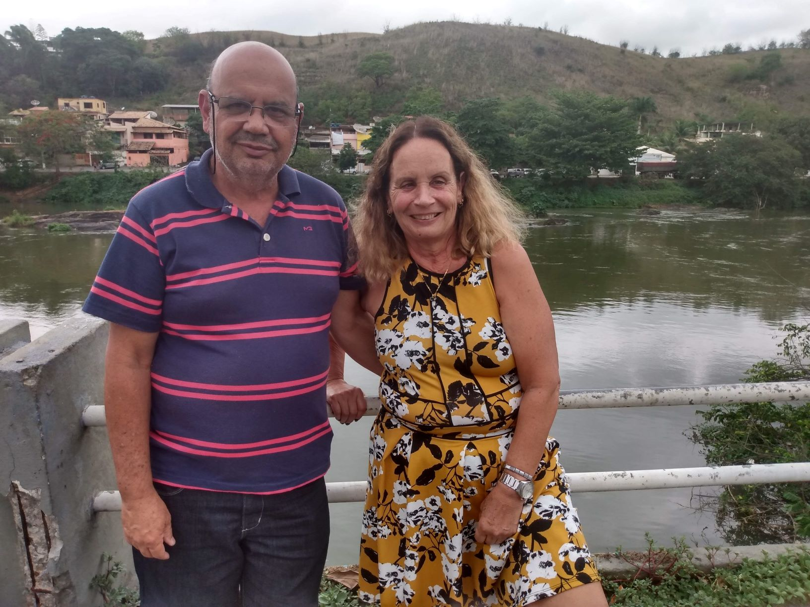 Geraldo e Rita em Três Rios: famílias marcadas pela hanseníase (Foto: Letícia Lopes)